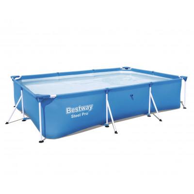 Каркасный прямоугольный бассейн 400х211х81 см, 5700 л, Bestway Family Splash 56405