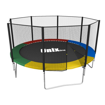 Батут UNIX line Simple 10 ft Color (outside) 305 см ВНЕШНЯЯ сетка