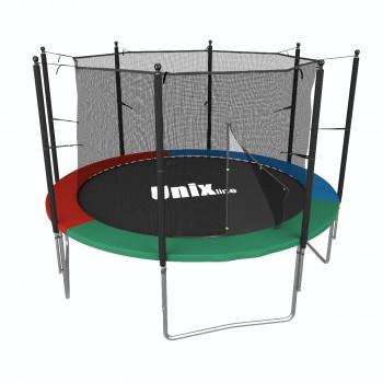 Батут UNIX line Simple 8 ft Color (inside) 244 см ВНУТРЕННЯЯ сетка (до 140 кг)