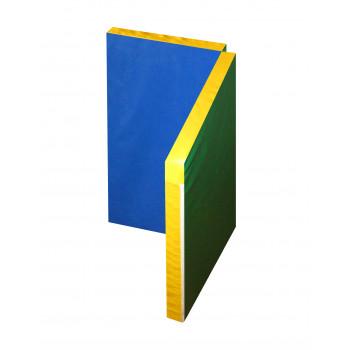 Мат гимнастический складной в 2 раза 1,0х1,0х0,06 метра