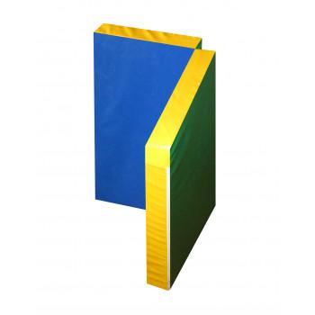 Мат гимнастический складной в 2 раза 1,0х1,0х0,1 метра