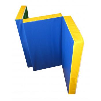 Мат гимнастический складной в 3 раза 1,5х1,0х0,1 метра