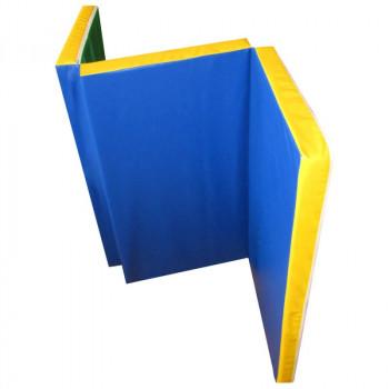 Мат гимнастический складной в 3 раза 1,5х1,0х0,06 метра